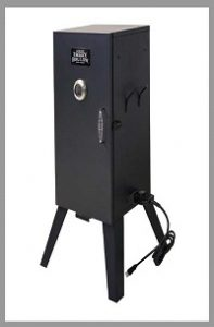 Electric Smoker with Adjustable Temperature Control