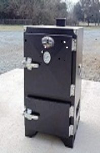 Charcoal BBQ Meat Water Smoker