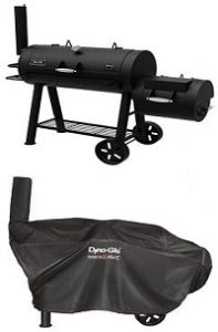 Dyna-Glo Signature Series DGSS730CBO-D Barrel Charcoal Grill & Side Firebox