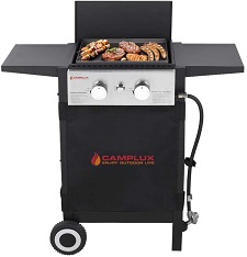 Camplux Propane Gas Griddle, Gas Grill and Griddle Combo,