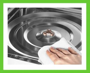 Utilize Your Oven's Self-Cleaning Feature